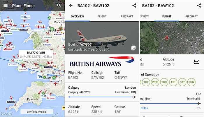 Plane Finder: Flight Tracker