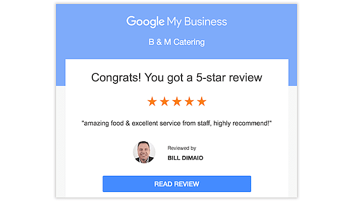 review on google business
