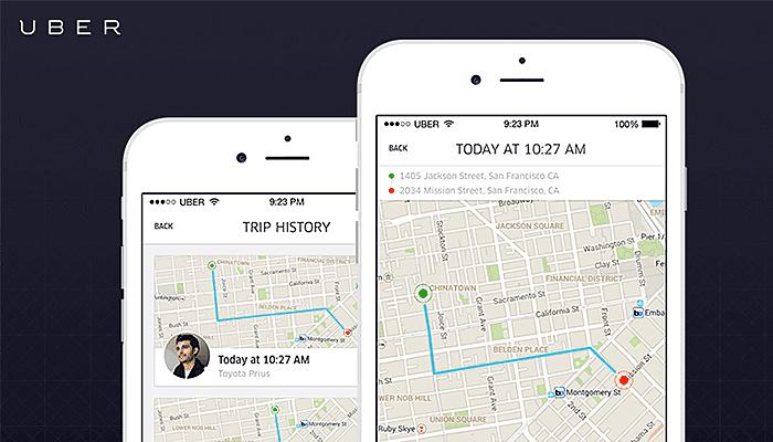 uber model application development