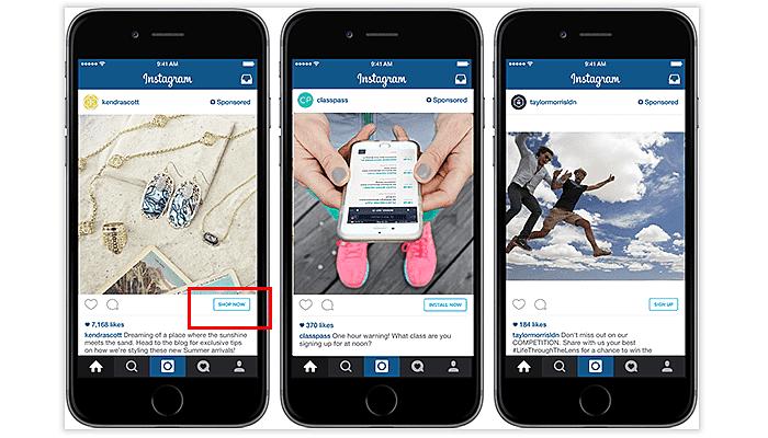 CTA in Instagram marketing