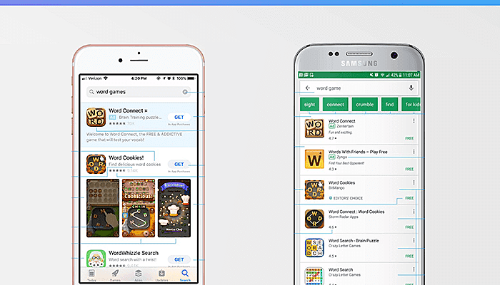 app store for android and ios