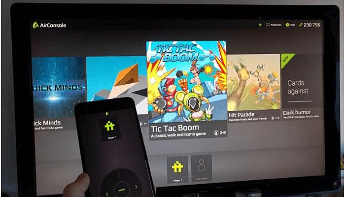 Multi Screen Mobile Games