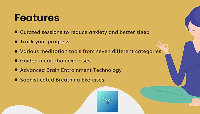 Features of Mindbliss Meditations