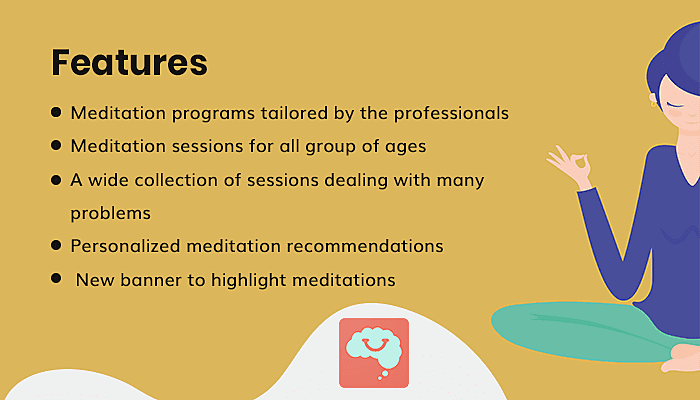 Features of Smiling Mind