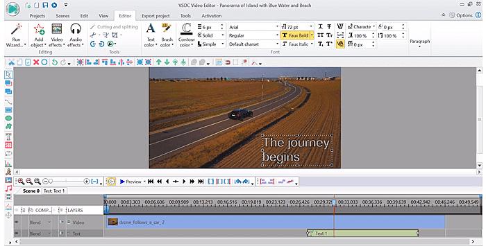VSDC Free Video Editor for Windows