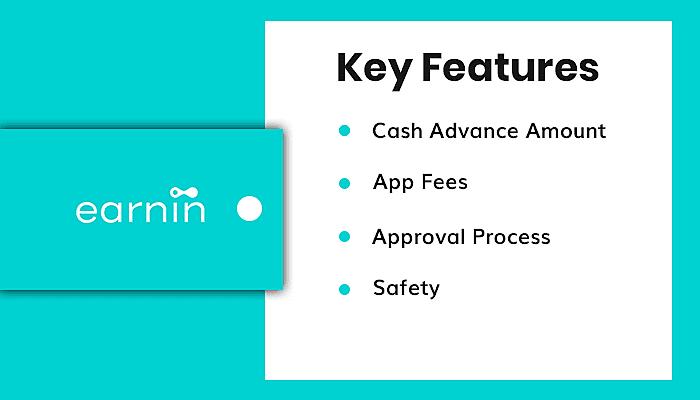 Key feature of earnin