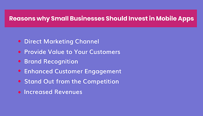 Small Businesses To Invest in Mobile Apps