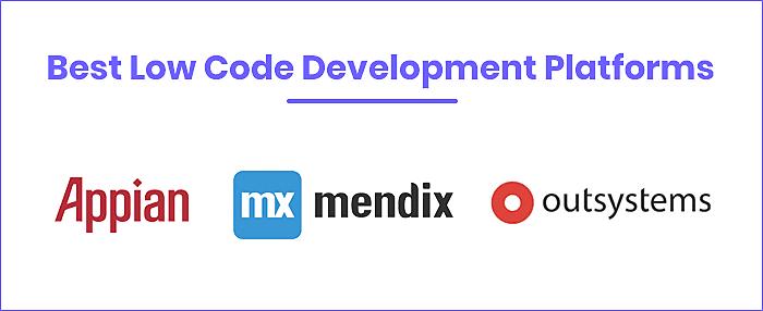 Best Low Code Development Platforms