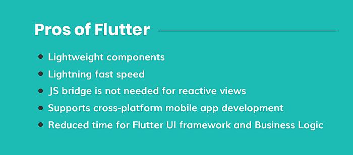 Pros of Flutter