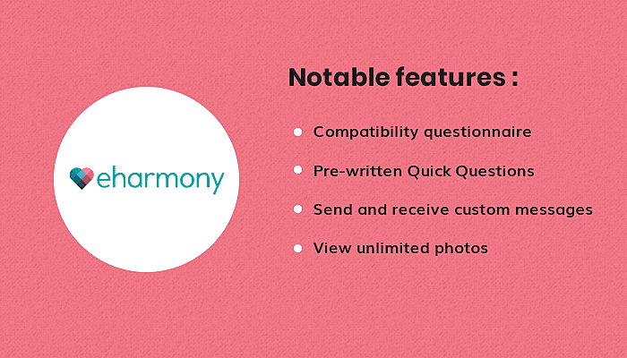features of eHarmony