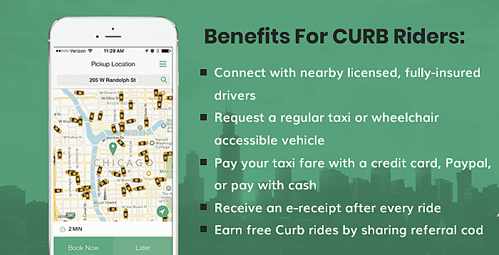 Benefits for CURB Riders