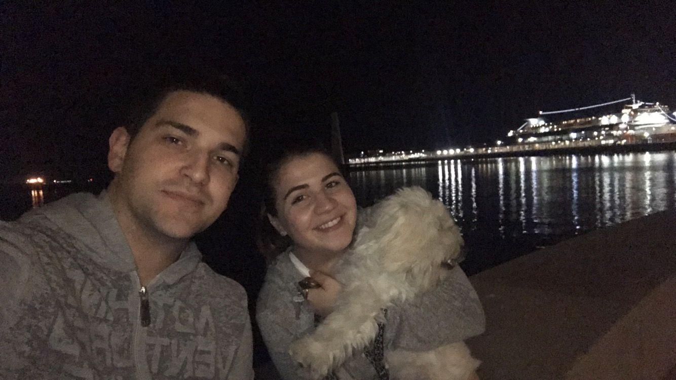 Dog Loving Couple in Port Melbourne