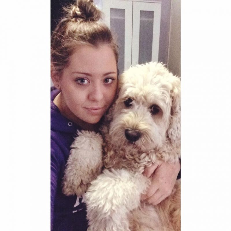Friendly female with Pet Labradoodle located in Cannon Hill ready to Mind/Pet sit your fur baby