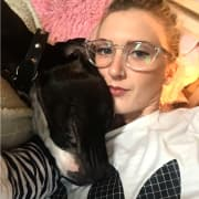 A Girl and Her Doggo