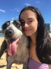 Loving Dog Lady in Tanawha