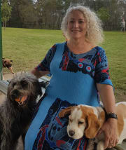 Retired lady who loves dogs and all creatures great and small