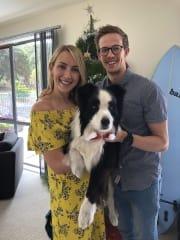 Pet loving couple, with Vet nursing background!