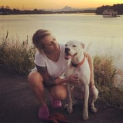 I love all animals big and small and miss you own fur babies... So want to love yours while I'm here in Sydney..