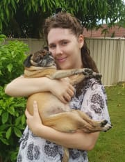 Loving pet sitter, reliably caring for your furry friends. (Townsend)