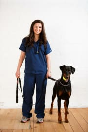 A small veterinarian with a big heart!