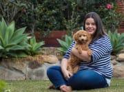 The calm, kind and fun dog nanny!