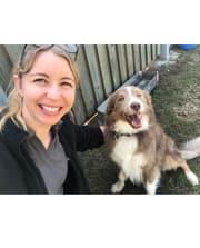 Loving and reliable vet nurse available for pet sitting!