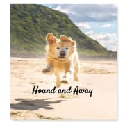 Hound and Away. We love dogs!