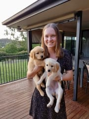 Easy-going, flexible, trustworthy and caring pet sitter & dog walker