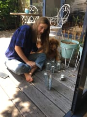 Happy and Helpful Pet Sitter