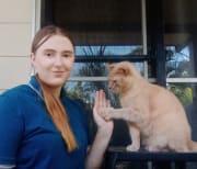 An animal loving university student.