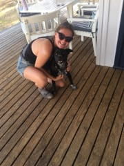 Animal lover! Reliable, caring and responsible pet walker/sitter.