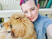 Loving and dedicated dog mum