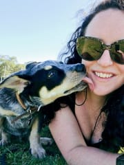 That girl that smiles and says hi to your dog!