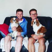 Dan and Daniel Dog Lovers <3