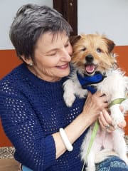 Responsible, reliable, mature, active pet lovers. High recommendations.