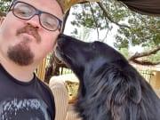 Pet sitter Extraordinary loves all animals