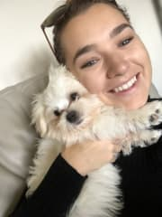 Emma - Caring Pet Sitter Mascot