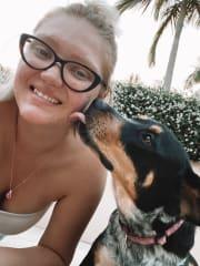 Passionate 21 y/old dog walker