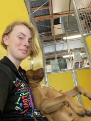 RSPCA volunteer available to care for your pet