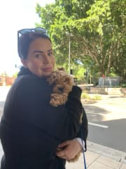 Reliable, caring and genuine pet sitter. Animal lover.