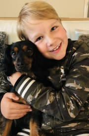 * Pet-sitting with Jasper *