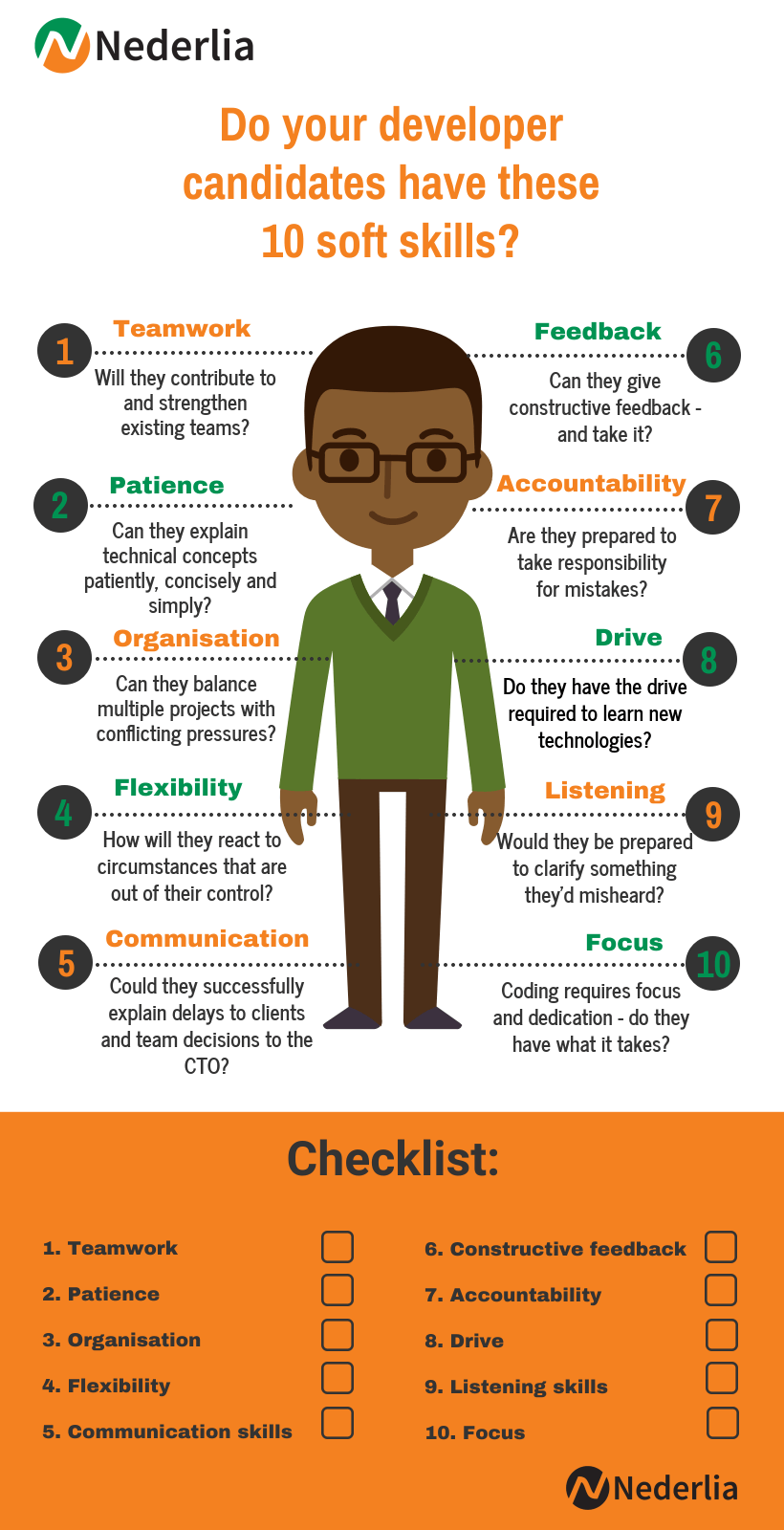 Checklist: 10 soft skills developers need to succeed