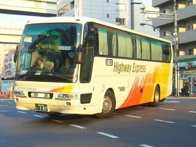About The Bus Running in Fukui