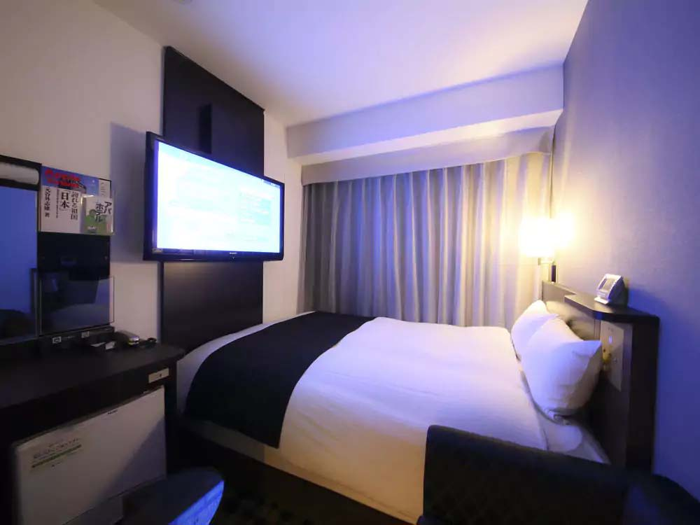 """APA Hotel Tsukiji Eki-Minami"" Offers Comfortable and Relaxing Room"