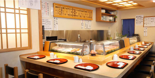 Tsukiji Sushi Dai head office, the ideal Edomae Sushi, mixture of high quality and casualness.