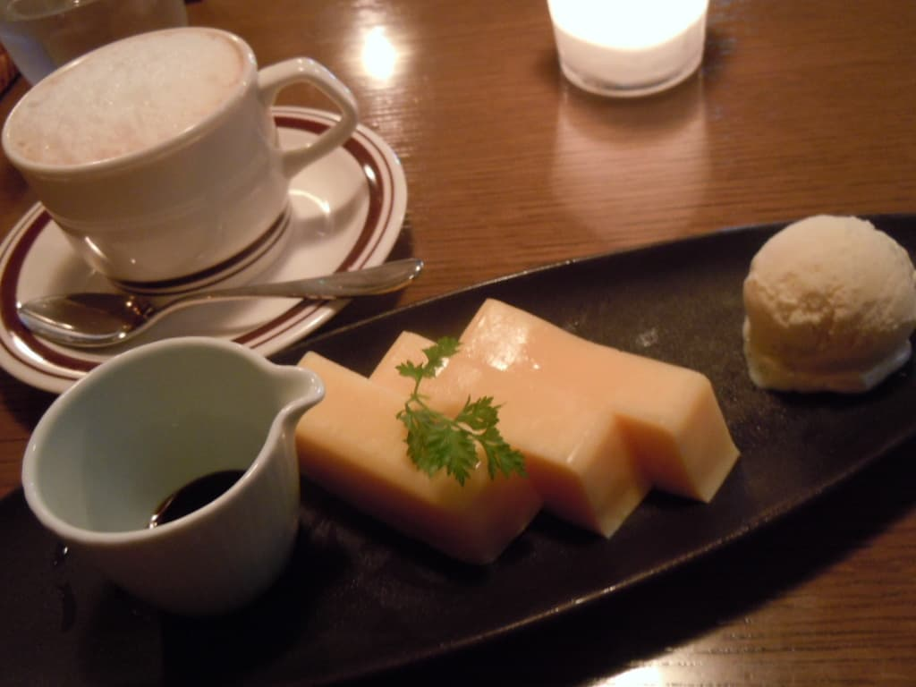 It Doesn't Resemble Pudding at all 「Tsukiji Fried Eggs Pudding」.