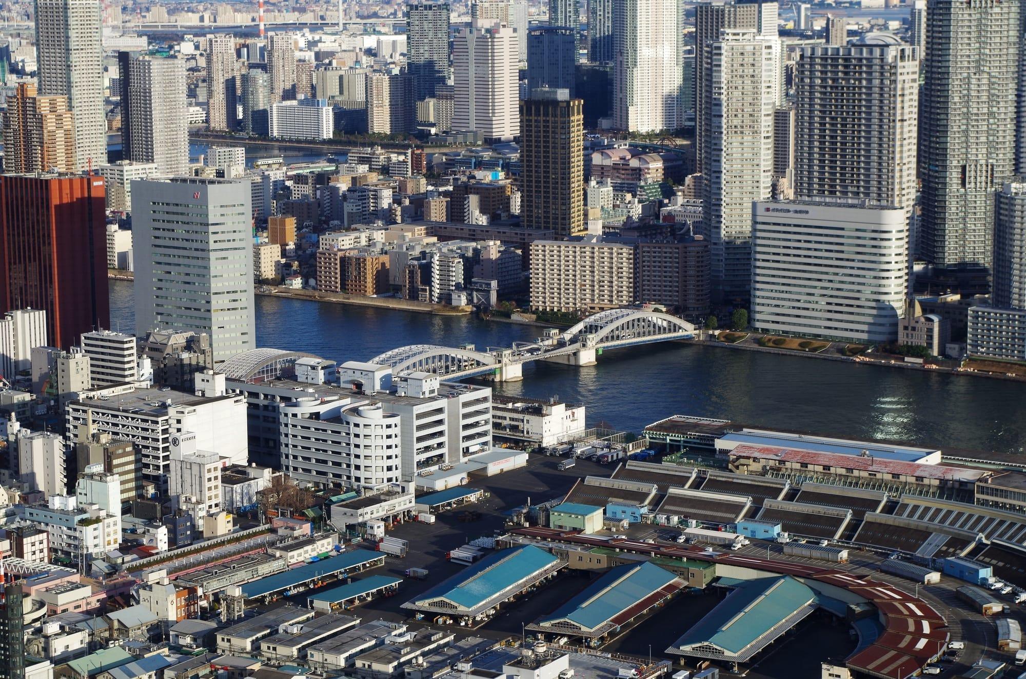 About Kachidoki Bridge