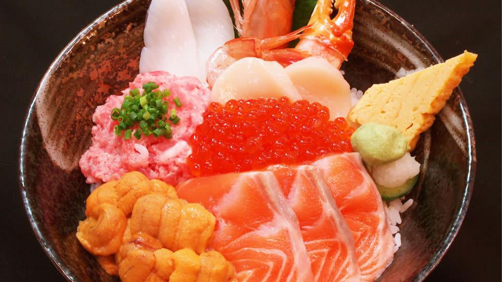 Fresh sea food from Tsukiji!
