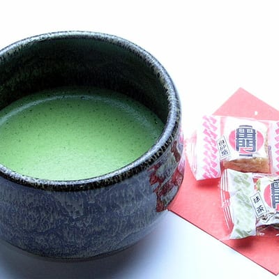 """Kaminarimon Matoi"", Café with Anmitsu and Matcha Close to Kaminarimon"