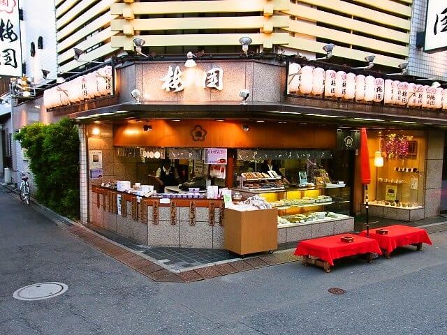 "Sweets Specialized Café in Downtown Tokyo ""Umezono Asakusa Honten"""